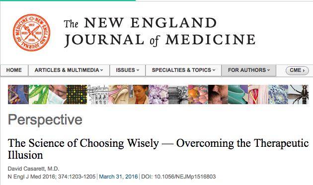 La ilusión de control de los sanitarios: falta de pensamiento crítico que hace daño