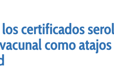 El pasaporte vacunal es discriminatorio. Por Abel Novoa
